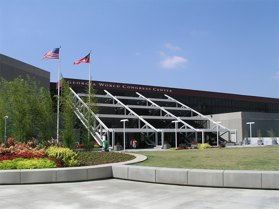 The Georgia World Congress Center Contiguous Exhibition Facility, Atlanta GA